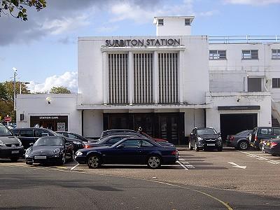 Surbiton Art Deco Station Building