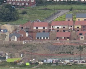 New homes built on farmland outside Newcastle