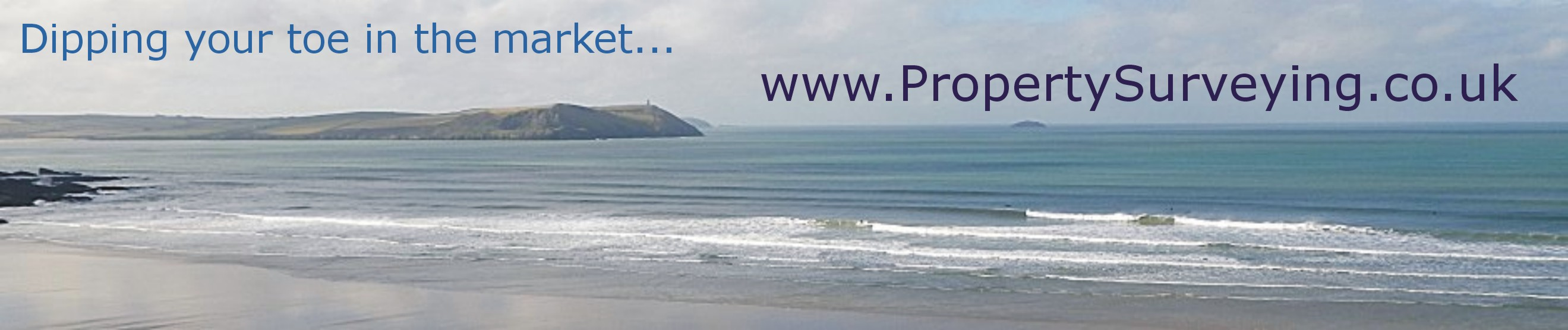 View from Polzeath, Cornwall