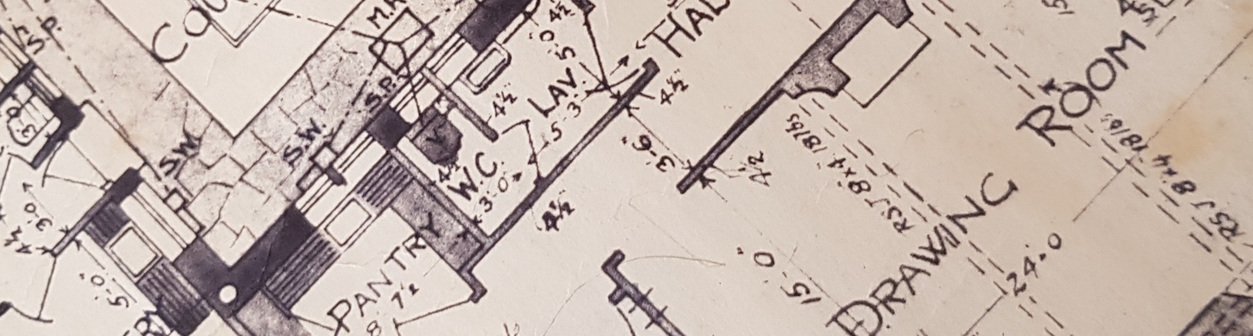 House plans for a traditional house