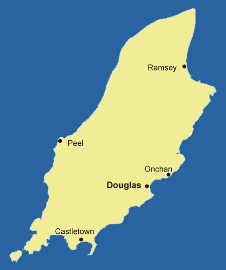 Clickable map of Isle of Man