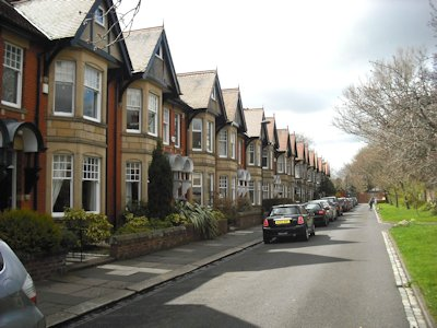 What difference could the type of thoroughfare you live on make?