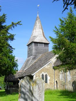 church building - Nr. Ashtead, Surrey