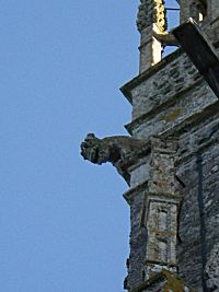 Gargoyle on a church