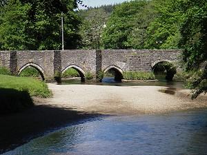 Medieval Bridge at Lostwithiel, Cornwall