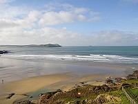 Polzeath Beach, Cornwall
