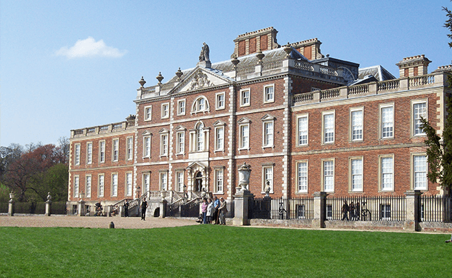 Wimpole Hall building, near Ramsey