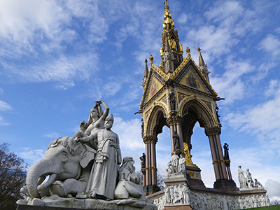 Albert Memorial in Kensington