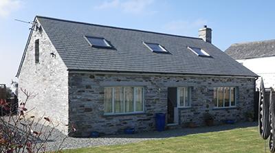 Barn conversion in Cornwall