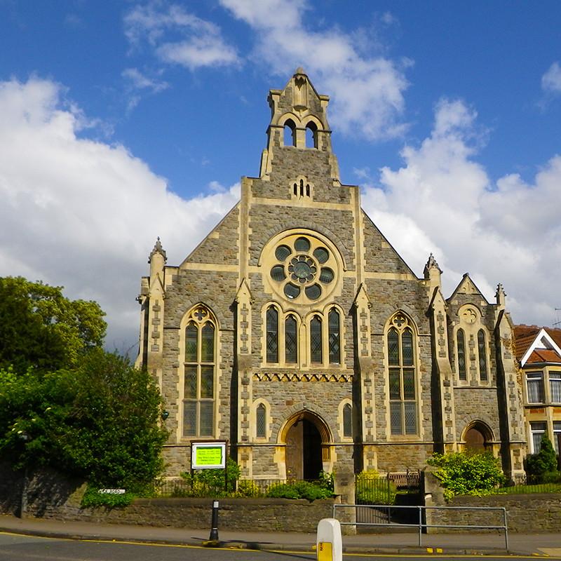 Church near Filton