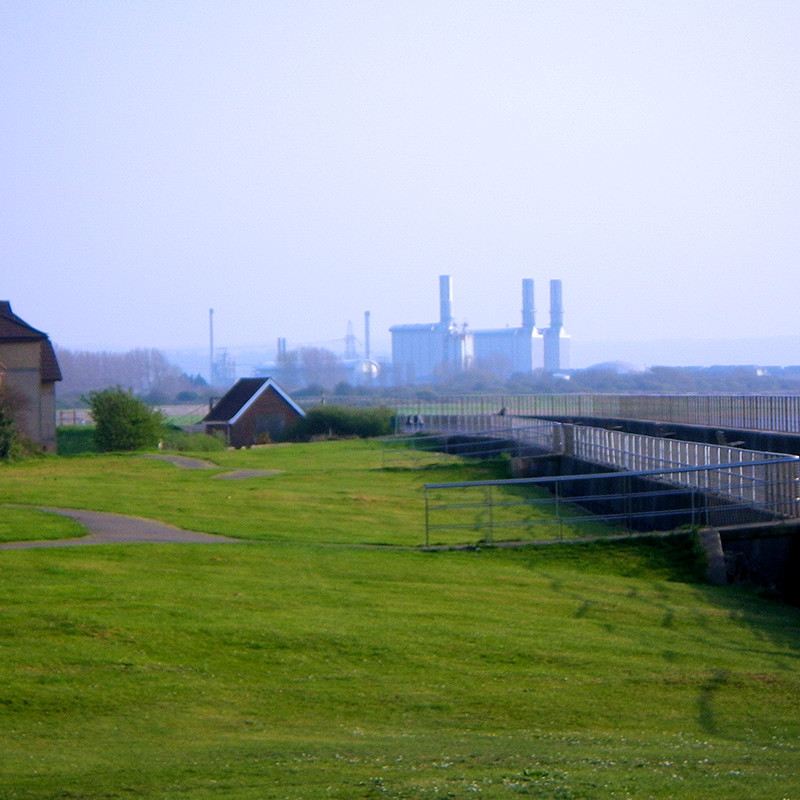 Factory view near Sea Mills