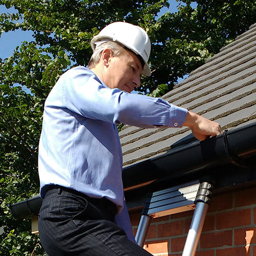 Nigel Polton, Coalville's trusted building surveyor