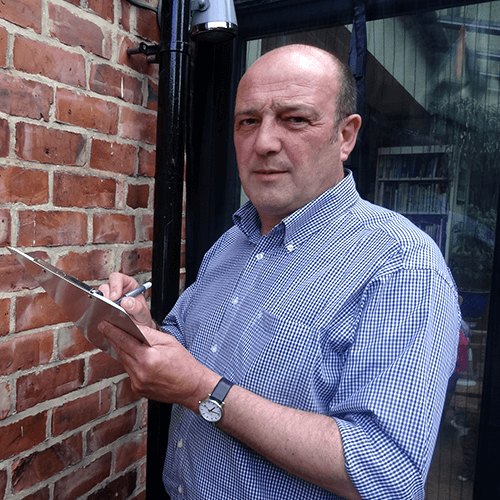 Andy Banks, Redcar's trusted building surveyor