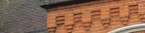 Brickwork decoration on older property