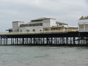 Colwyn Bay Pier - Mural Uncovered