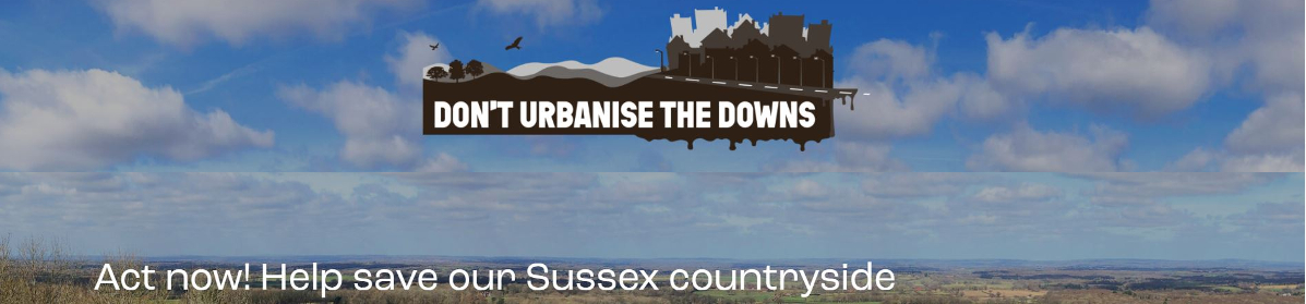 Don't urbanise the Downs is fighting to save the Downs