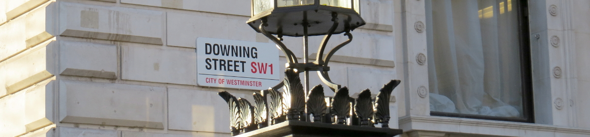 Downing Street, home of the pm
