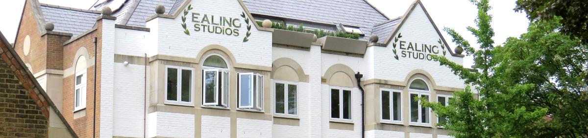 Walpole Court, apartment building at Ealing Studios