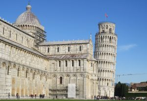 The bell tower at Pisa