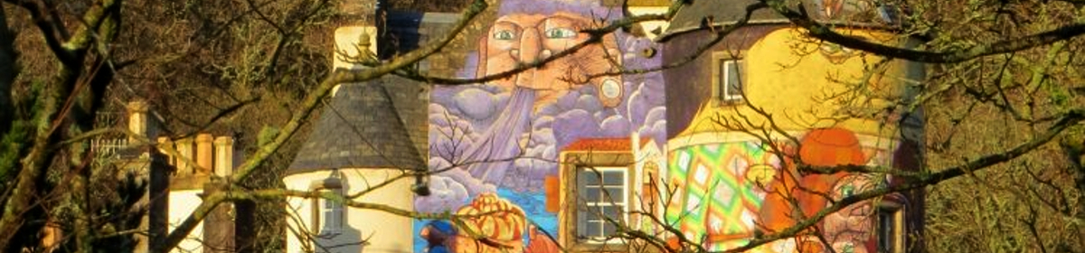 Grafitti at Kelburn Castle Largs