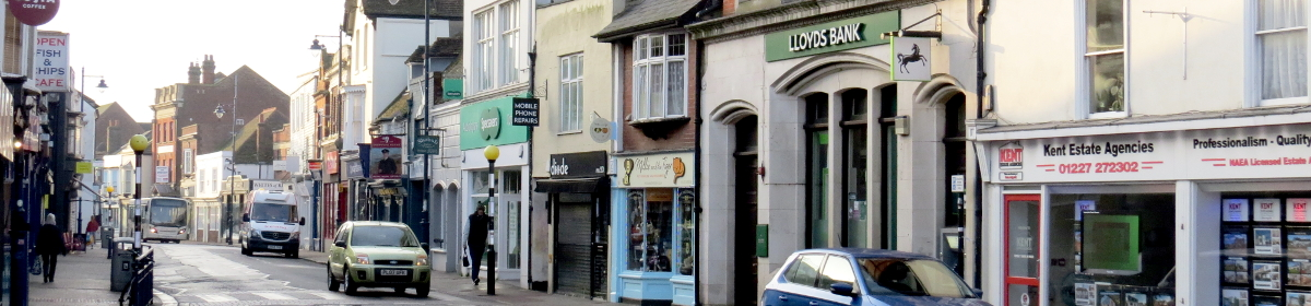 Lloyds Bank branch on Whitstable High Street
