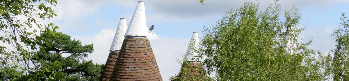 Oast Houses in Kent