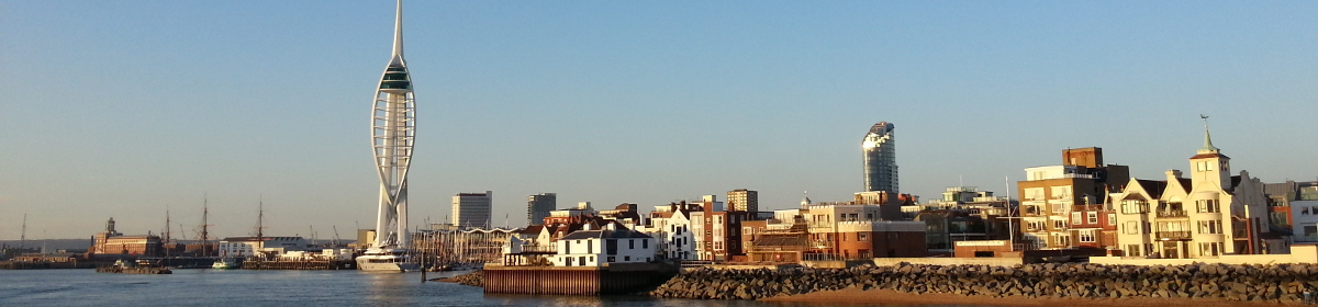 Buildings on the Portsmouth water front