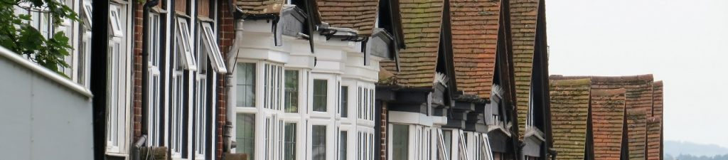 Terraced properties in Sanderstead
