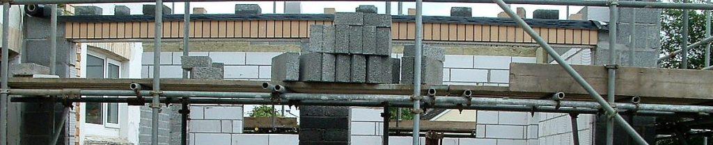 HMRC battles with DIY - self building bricks and scaffolding