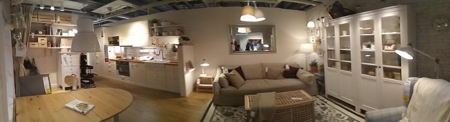 tiny apartment homes produced by Ikea