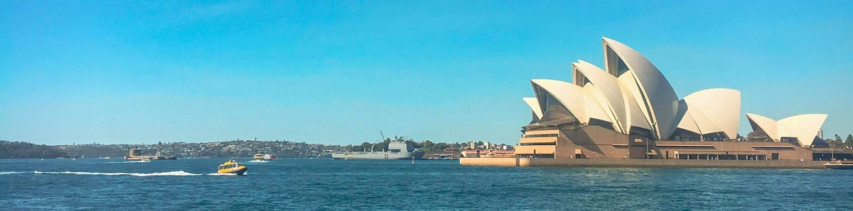 Sydney Opera House, Sydney Harbour in New South Wales, Australia