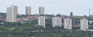 Newcastle residential tower blocks