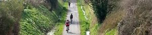 Walking and cycling on former railway routes