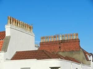 chimney - multiple stack