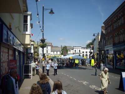 Central Square, Holsworthy, Devon