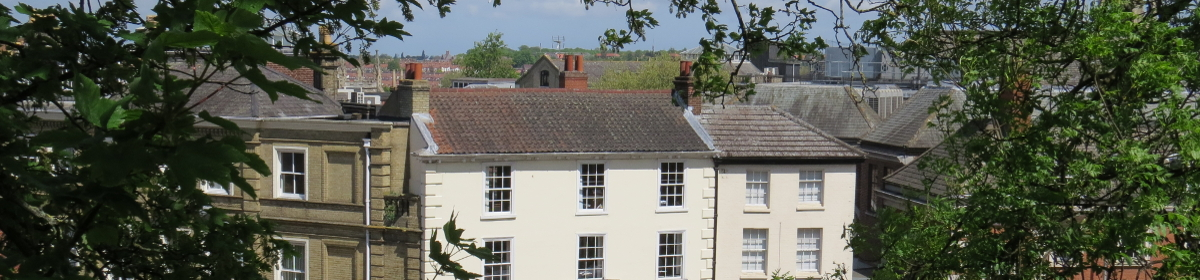 view of buildings in Norwich