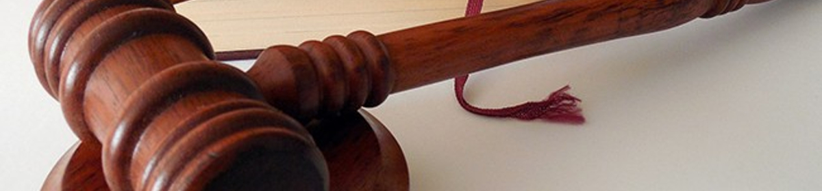 Gavel used by judge in courts of law