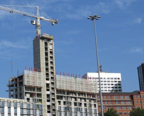 Leeds city centre building