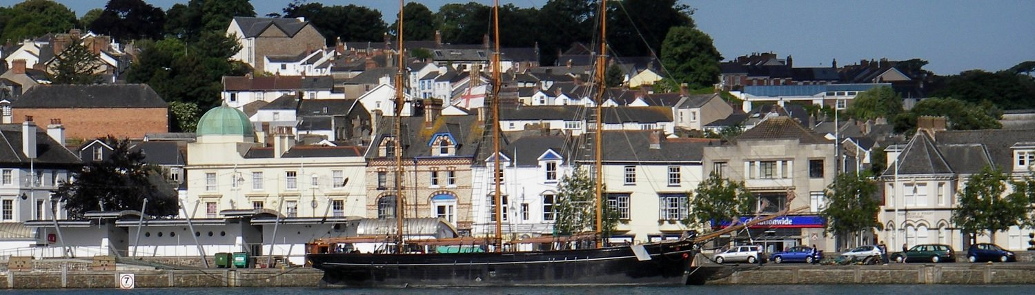 Bideford Quay and the Kathleen and May