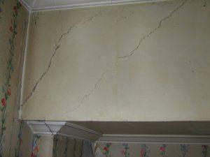 Surveyed Cracked Walls