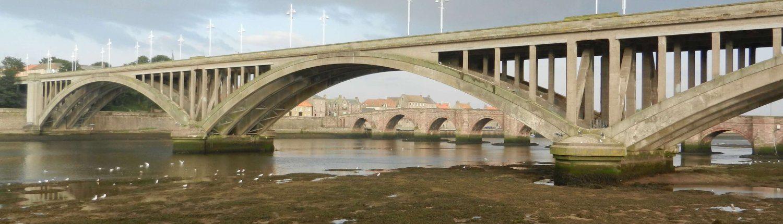 Bridge at Berwick-upon-Tweed