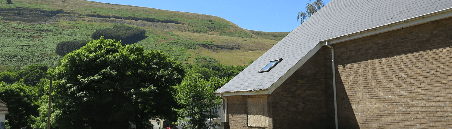 Church property at Blaina