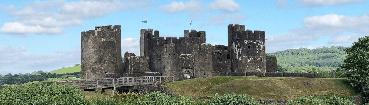 Caerphilly Castle Building