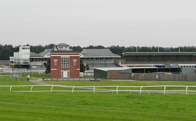 Catterick racecourse buildings
