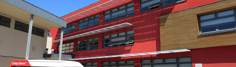 Crosskeys College buildings