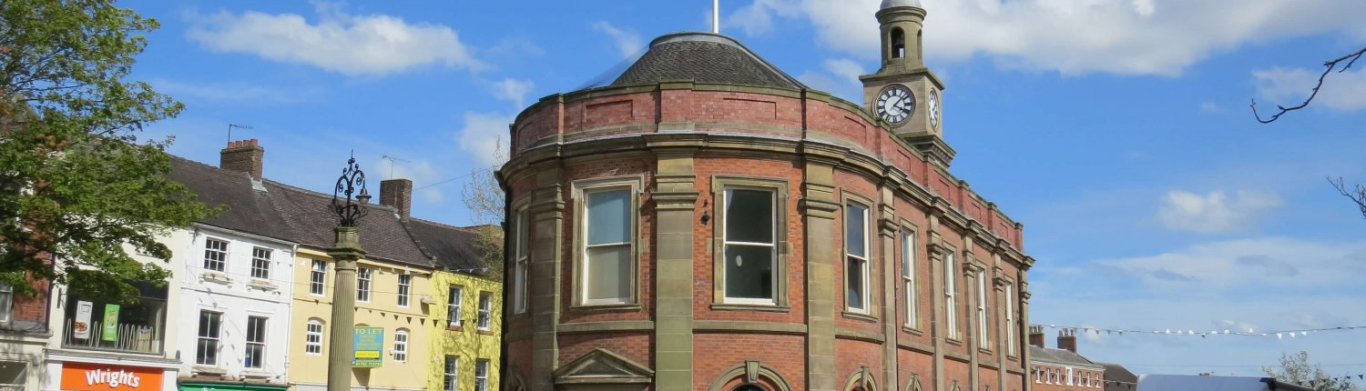 Newcastle under Lyme guildhall
