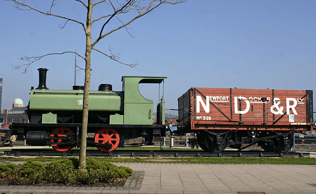 Newport Dock Trains