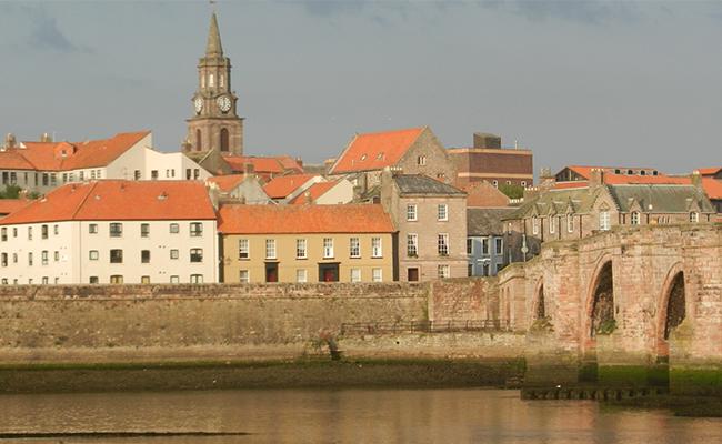 Buildings at Berwick-upon-Tweed