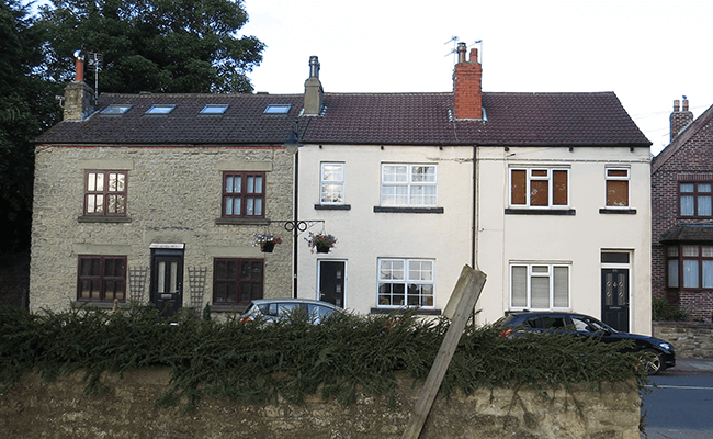 Terraced property, Barwick-in-Elmet