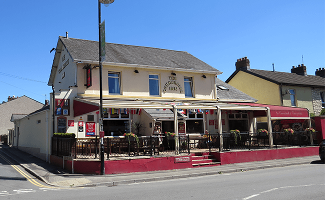 Risca Commercial property and public house.